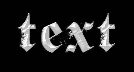 1 effect1 Create a Burning Metal Text with Melting Effect in Photoshop