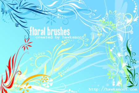 floral1-brushes-by-hawksmont