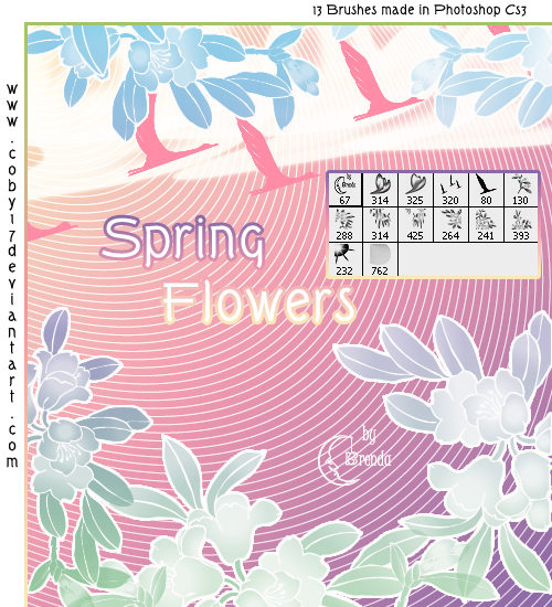 Spring_Flowers_Brushes_by_Coby17