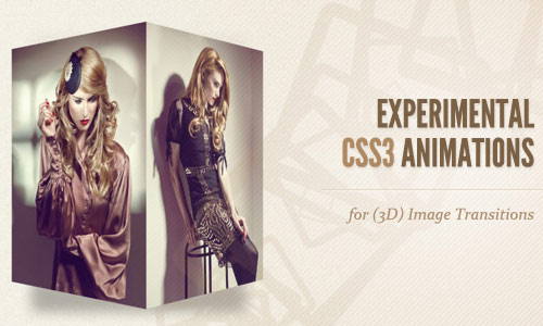 instantShift - Experimental CSS3 Animations for Image Transitions