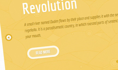 instantShift - Parallax Content Slider with CSS3 and jQuery