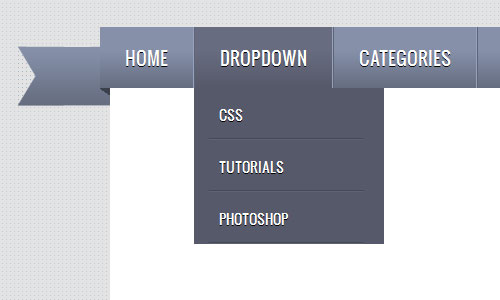 instantShift - Create a Ribbon DropDown Menu with CSS3 and jQuery