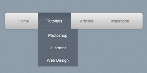 instantShift - How To Create a Pure CSS Dropdown Menu