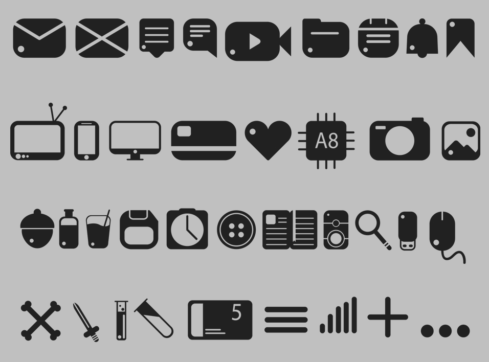 Free Rounded Icons