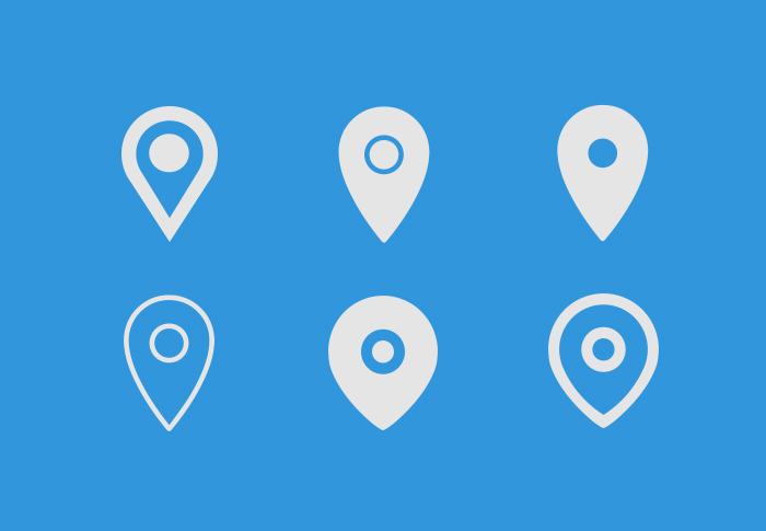 Map Icons PSD
