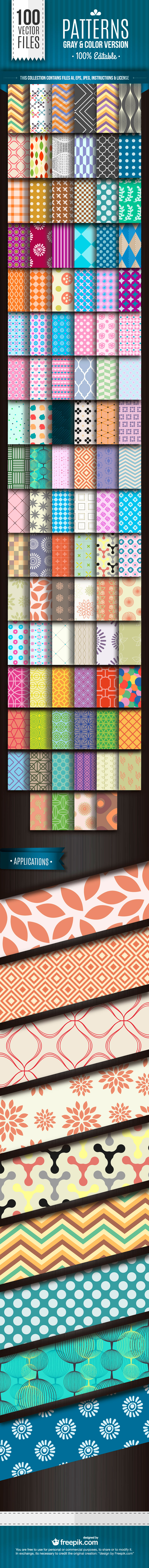 2015 100 Patterns preview