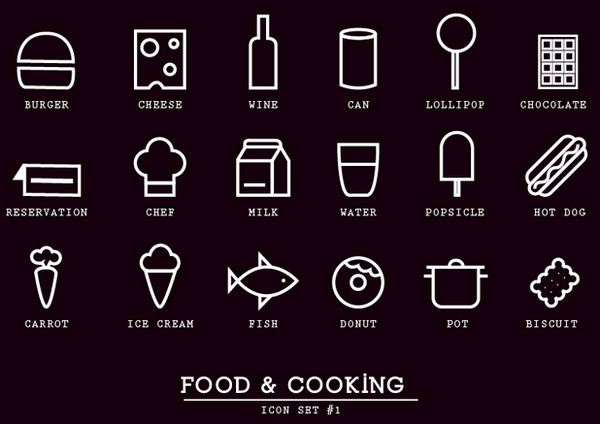 Food and Cocking Icons