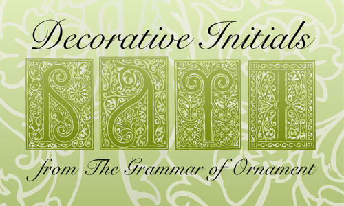 Decorative Initials Vectors