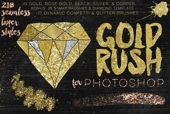 3-Gold-Rush-For-Photoshop