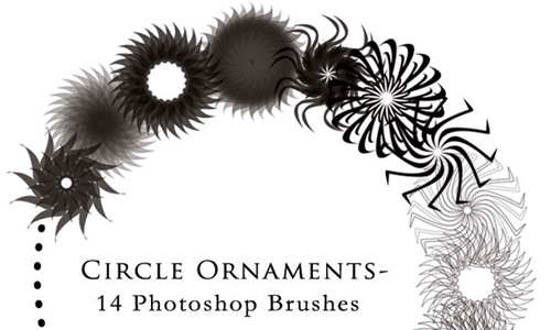 Circle Ornament Brushes