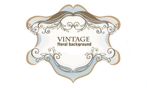 vintage ornamental brushes free