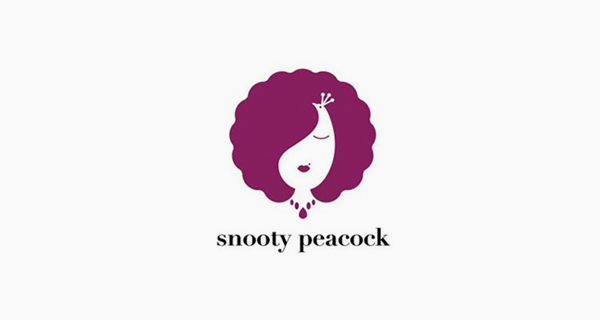 Creative logo designs that use negative space - Snooty Peacock