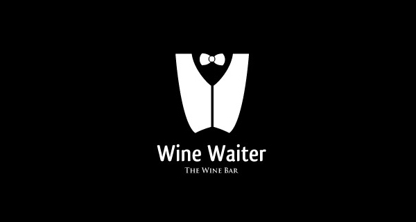 Creative logo designs that use negative space - Wine Waiter