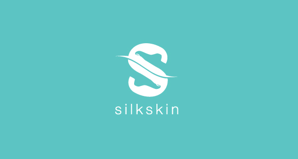 Creative logo designs that use negative space - SilkSkin