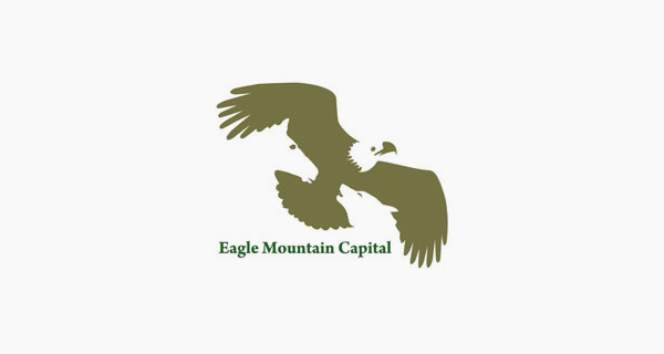 Creative logo designs that use negative space - Eagle Mountain Capital