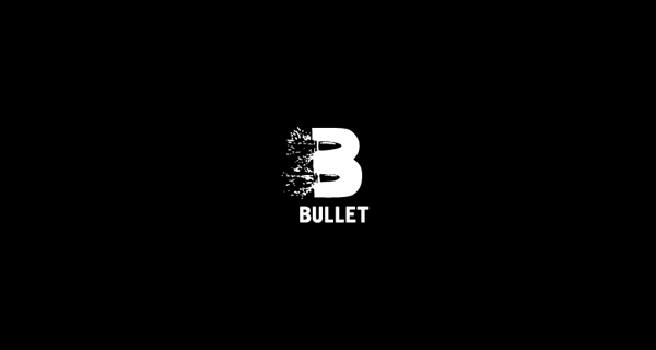 Creative logo designs that use negative space - Bullet