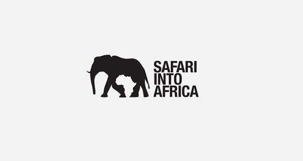 Creative logo designs that use negative space - Safari into Africa