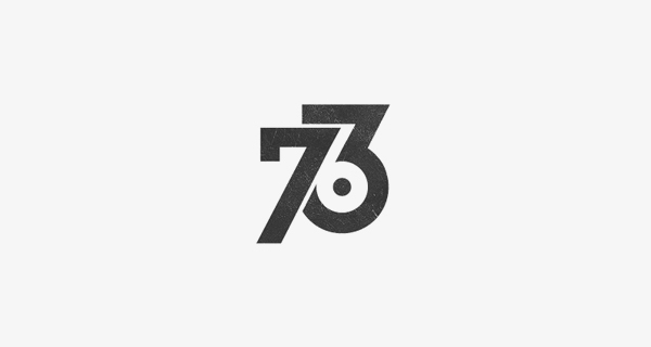 Creative logo design using numbers and digits - 763