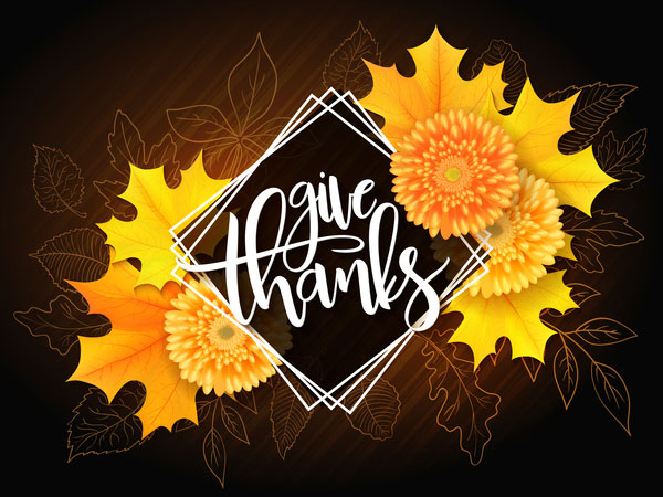 thanksgiviting day background design vector 04