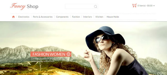 Fashion OpenCart Ecommerce Website Templates