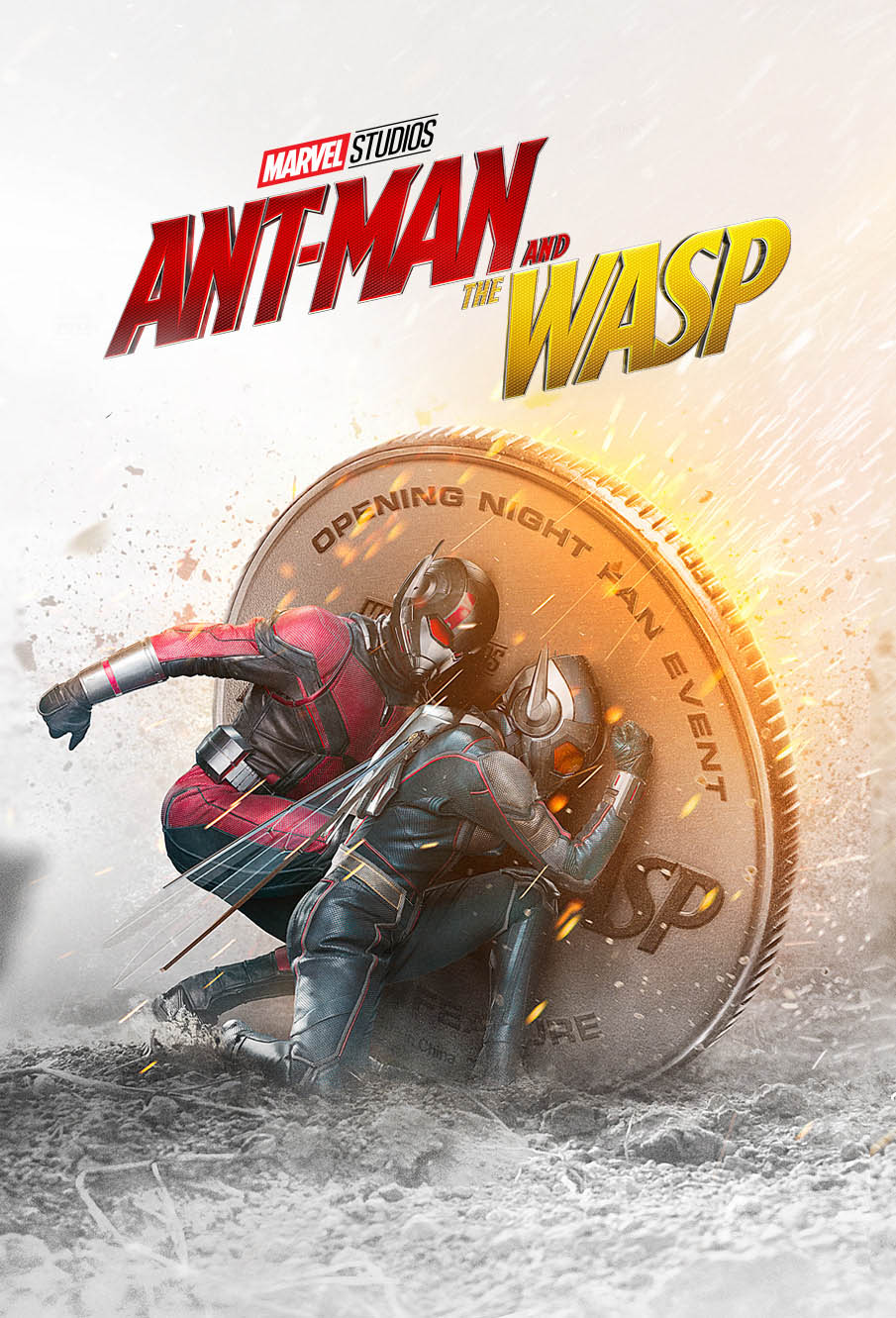 movie poster designs ideas ant man wasp